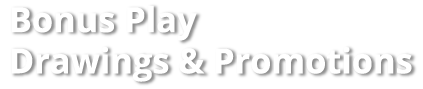 Florida Lottery Second Chance Drawings and Promotions