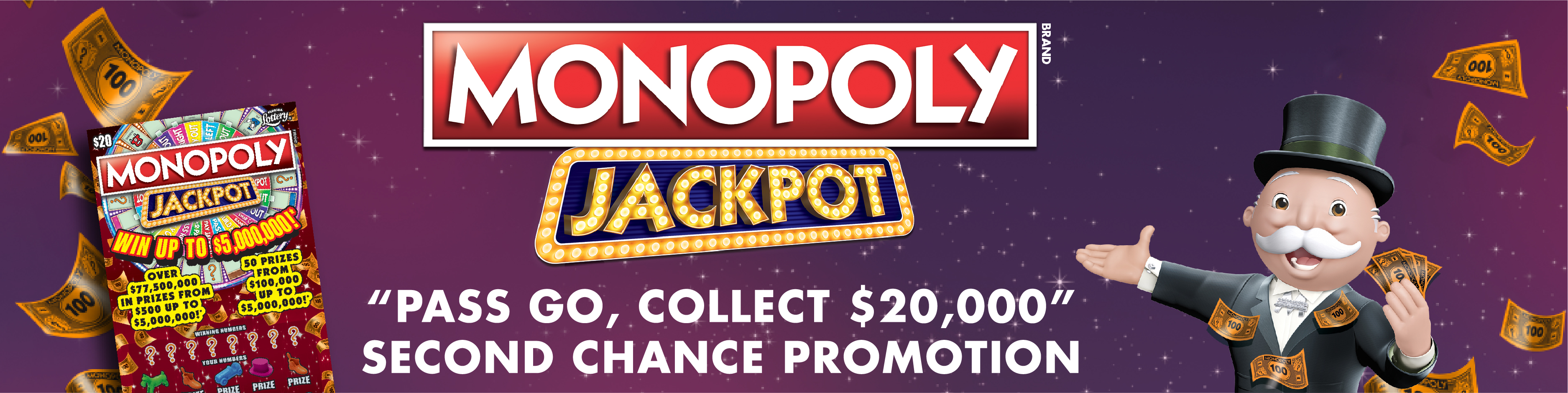 Monopoly Jackpot Second Chance Promotion